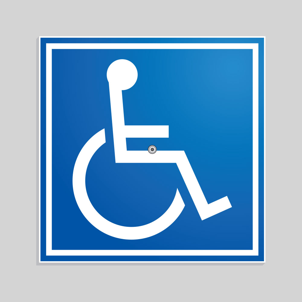 Removable ADA Sign CSA005