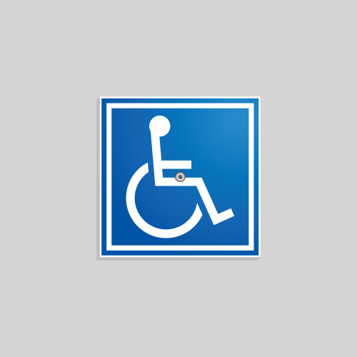 Removable ADA Sign CSA006