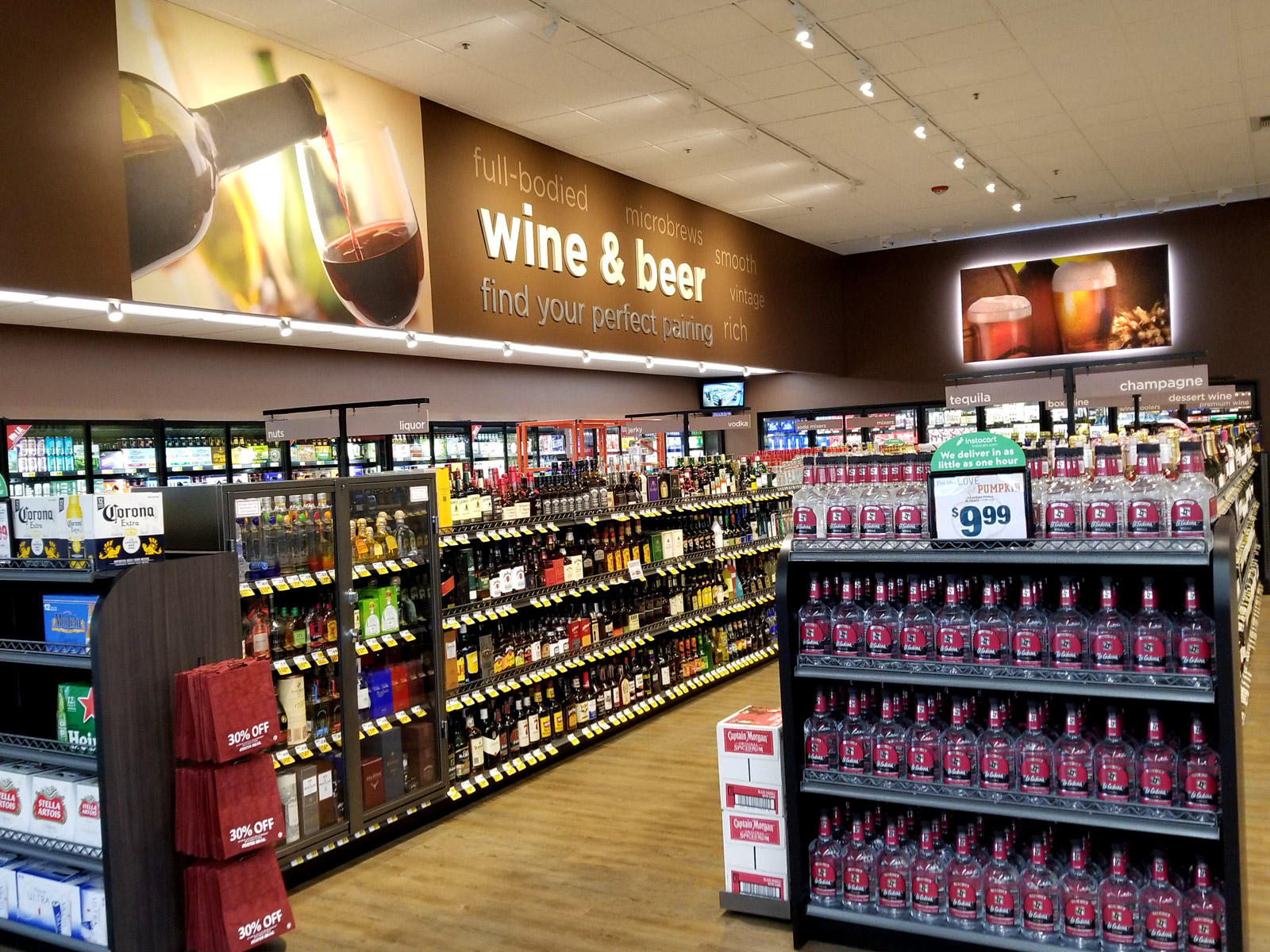 Stater Bros. Markets Photo - Wine Department